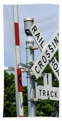 Railroad Crossing Beach Sheet