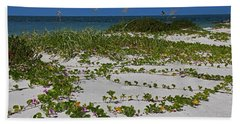 Railroad Vines On Boca IIi Beach Sheet