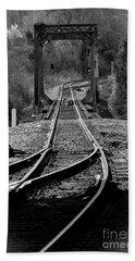 Beach Sheet featuring the photograph Rails by Douglas Stucky