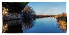 Railway Bridge Beach Towel