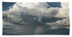 Beach Towel featuring the photograph Rain, Beautiful Rain  by Saija Lehtonen