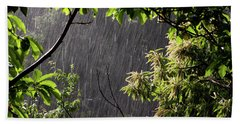 Rain Beach Sheet by Bruno Spagnolo