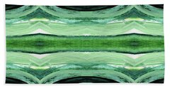 Rain Forest- Art By Linda Woods Beach Towel