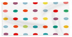 Rainbow Abstract Beach Sheet