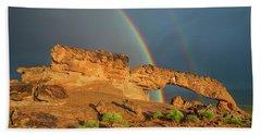 Rainbow Arch Beach Towel