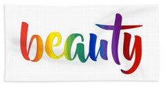 Rainbow Beauty Beach Towel