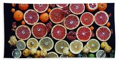 Rainbow Citrus Etc Beach Sheet