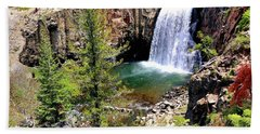Rainbow Falls 1 Beach Towel