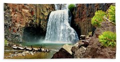Rainbow Falls 15 Beach Towel