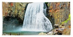 Rainbow Falls 6 Beach Towel