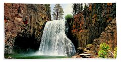 Rainbow Falls 8 Beach Towel