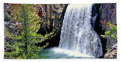 Rainbow Falls 9 Beach Towel