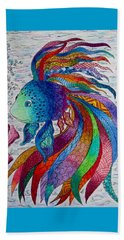 Rainbow Fish Beach Sheet