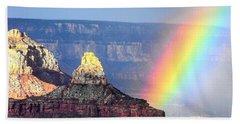 Rainbow Kisses The Grand Canyon Beach Towel