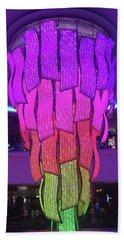 Beach Towel featuring the photograph Rainbow Light by Karen Zuk Rosenblatt