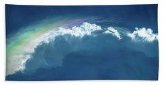 Rainbow Peeking Beach Sheet