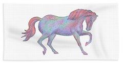Rainbow Pony II Beach Sheet