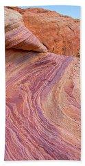Rainbow Rocks Near Fire Canyon Beach Sheet