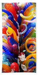 Rainbow Spirals Beach Towel