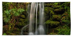 Rainbow Springs Waterfall Beach Towel