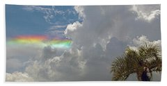 Rainbow To Nowhere Beach Towel