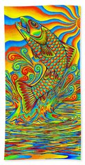Rainbow Trout Beach Sheet