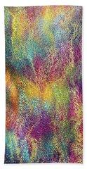 Rainbow Waterfall Diptych Beach Towel