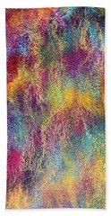 Rainbow Waterfall  Beach Towel