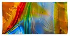 Rainbow Waterfalls Beach Towel