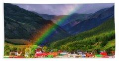 Rainbow's End Beach Towel