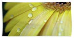 Raindrops #1 Beach Sheet