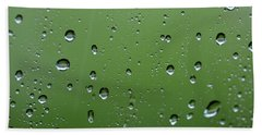 Raindrops  2 Beach Towel