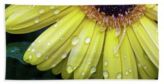Raindrops #2 Beach Sheet