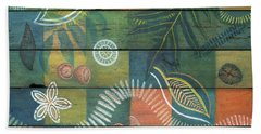 Rainforest Regeneration  Beach Towel by Kerryn Madsen-Pietsch