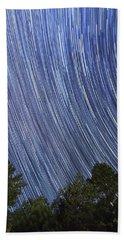 Raining Stars In Ruidoso Beach Towel