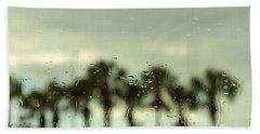 Rainy Daze Beach Sheet by Christopher L Thomley