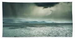 Rainy Mood Beach Towel