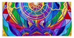 Raise Your Vibration Beach Towel
