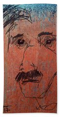 Ralphy Beach Towel by Jim Vance