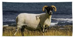 Ram With Attitude Beach Towel