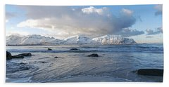 Ramberg Beach, Lofoten Nordland Beach Sheet