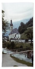 Ramsau Church Beach Towel