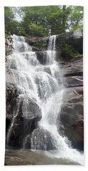 Ramsay Cascade Smoky Mountains National Park Beach Towel