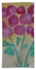 Randi's Roses Beach Towel