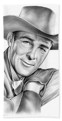 Randolph Scott Beach Towel