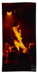 Randy Hansen - Old Waldorf Sf 5-16-79 Beach Towel