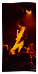 Randy Hansen - Old Waldorf Sf Hendrix Backward Effect Beach Towel