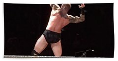 Randy Orton Wrestler Beach Towel