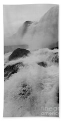 Beach Towel featuring the photograph Rapid Stream by Raymond Earley