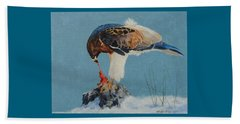 Raptor Beach Towel